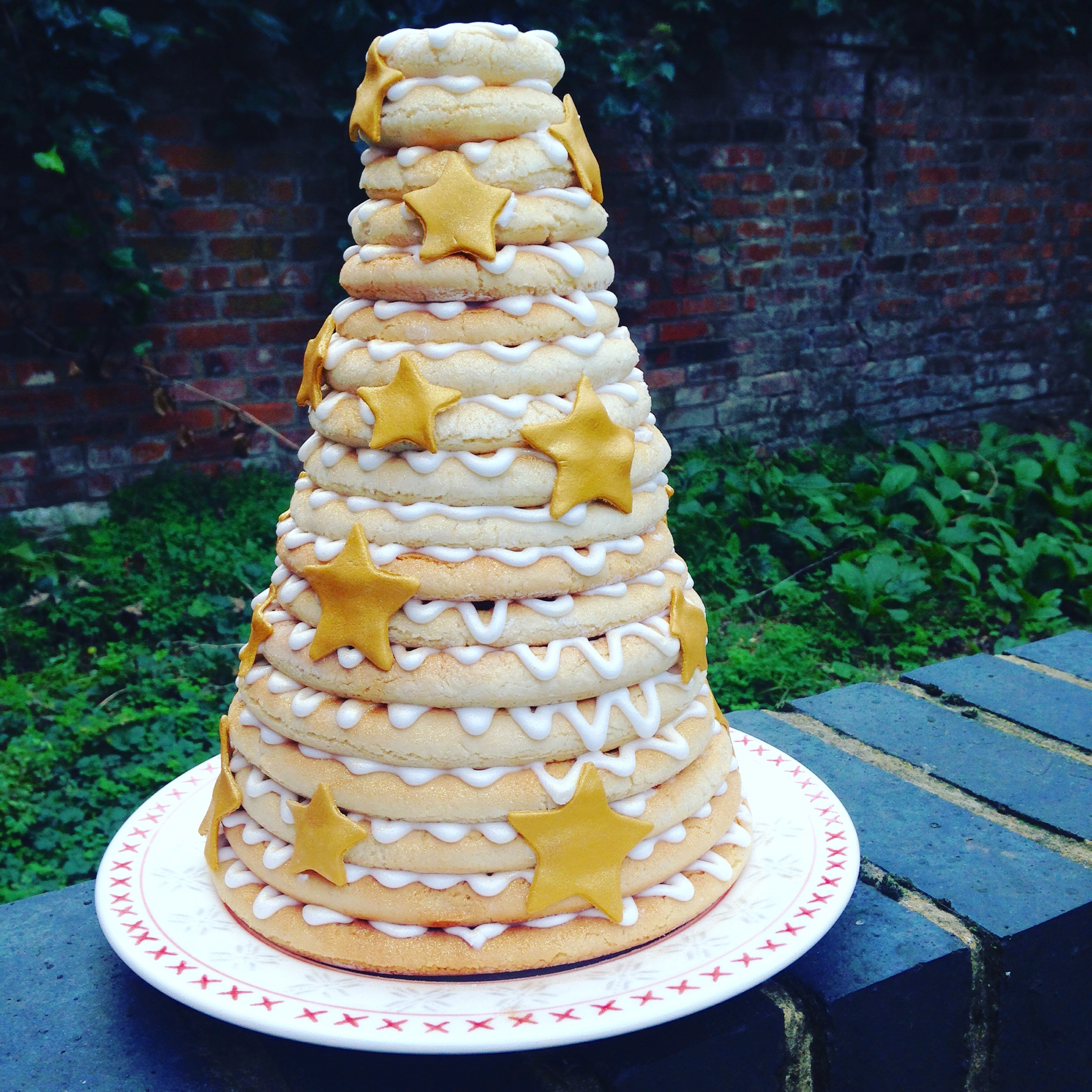 norwegian wedding cake tradition gluten free kransekake recipe titchy ton bakes 17932